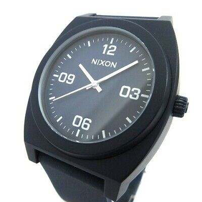 ba2b03691 Nixon Watches Time Teller copy THE TIME TELLER P rubber band MINIMAL Quartz  Anal