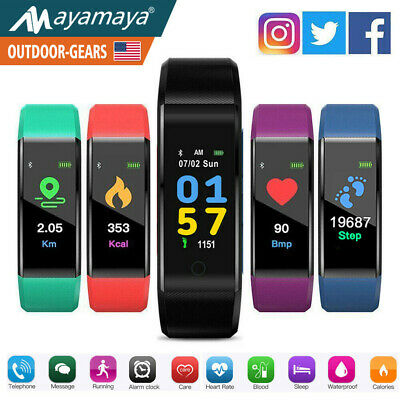 Sports Waterproof Fitness Activity Tracker Smart Watch Fit**bit StyIe Bluetooth