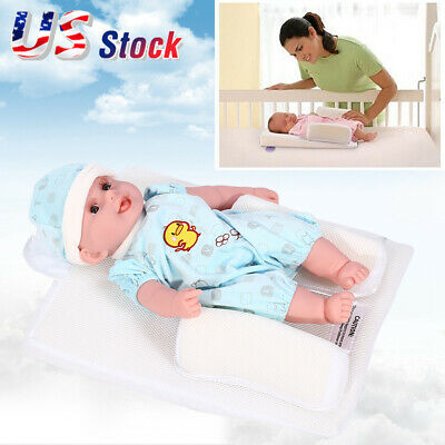 Baby Sleep Pillow Wedge Adjustable Newborn Infant Anti-Roll Safety Prevent Tools