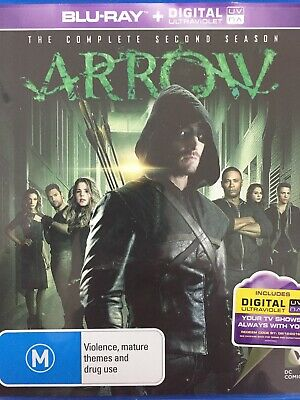 ARROW - Season 2 4 x Disc BLURAY Set AS NEW! Complete Second Series Two