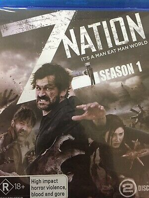 Z NATION - Season 1 2 x BLURAY Set AS NEW! Complete First Series One