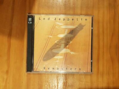 LED ZEPPELIN Remasters 2CD Set Good Used Condition FREEPOST IN AUSTRALIA