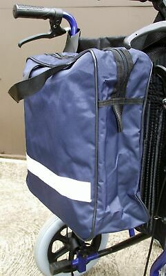 Wheelchair Bag Pouch Shopping Mobility Scooter Walker Carry Rear Waterproof NEW