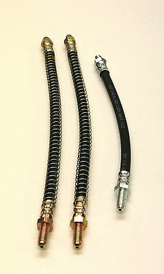 Flexible Brake Hose Set Mgb Rubber Bumper Models 1975 On