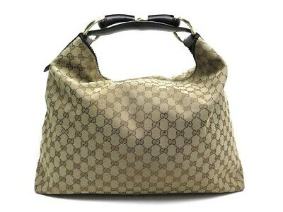 99eadffe673ad1 Sac A Main Gucci Horsebit Large Hobo Bag 114900 En Toile Monogramme Purse  1700€