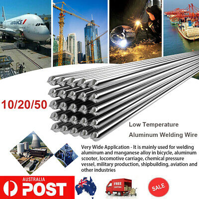 10/20/50Pcs Aluminium Low Temperature Welding Wire Soldering Repair Rods AU Z1S2