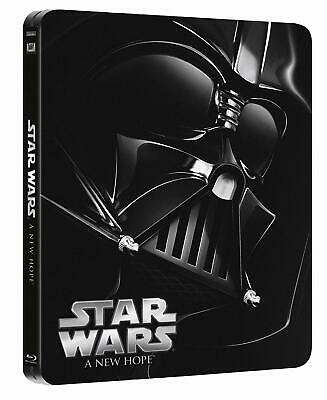 Star Wars Episode IV une Nouvelle Espoir A New Hope Blu-Ray Steelbook Anglais N