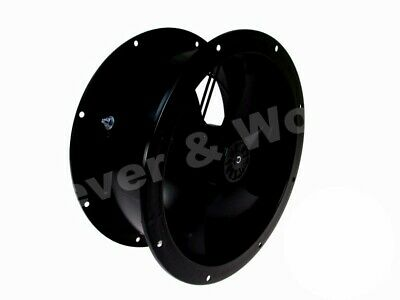 Kitchen Commercial Extract Fan 250mm - 630mm && Speed Controller