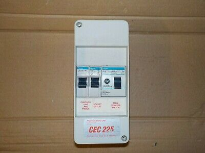 Building Materials & Supplies 2 Way Garage Caravan Shed Boat Mini Consumer Unit 40A 30Ma RCD 2 MCBS Fuse Box