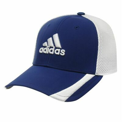 7aba131e BNWT adidas Tour RDR Baseball Cap Golf Hat Blue/White Mens Size S/M