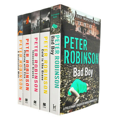 Peter Robinson 7 Books Collection Set Inc Bad Boy, Innocent Graves...