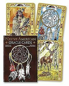 Native American Spirituality Oracle Cards by Lo Scara... | Book | condition good