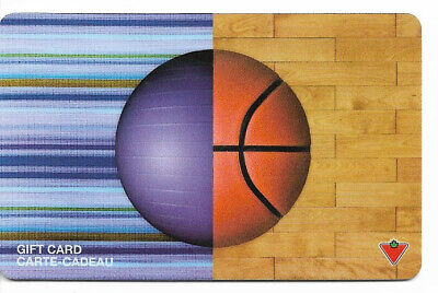 Canadian Tire Gift Card Var-Bb-04 Ball Basketball