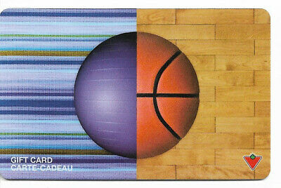 Canadian Tire Gift Card Var-Bb-03 Ball Basketball