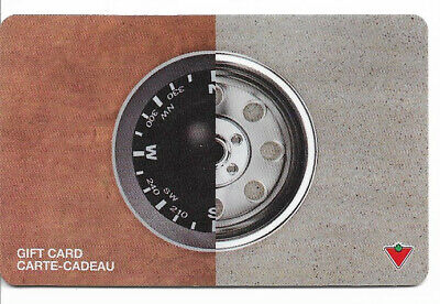 Canadian Tire Gift Card Var-Cw-04 Compass Wheel