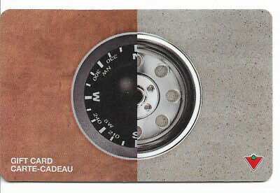 Canadian Tire Gift Card Var-Cw-01 Compass Wheel