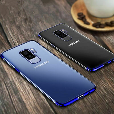 For Samsung Galaxy S9 /S9 Plus Luxury Slim Shockproof Silicone Case Cover