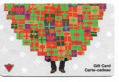 Canadian Tire Gift Card Var-Cs-01 Gift With Feet