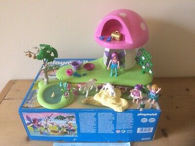 Playmobil 6055 Fairies with Toadstool House Set