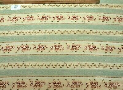 3 Antique French Louis XVI Style Floral & Stripes Pieces c. 1900's Soft Colors