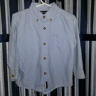 Toddler boys 3T Faded Glory light blue button front shirt