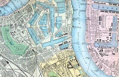 LONDON - 1924, THE EAST END, ROTHERHITHE & THE DOCKS