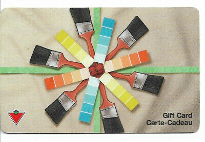 Canadian Tire Gift Card Var-Pc-01  Paint Card