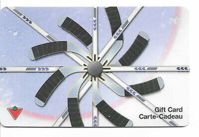 Canadian Tire Gift Card Var-Hs-02 Hockey Sticks