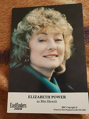 BBC EastEnders Mrs Hewitt Cast Card