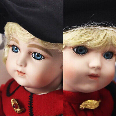 Antique Reproduction Bru Jne Pair Girl & Boy Porcelain Dolls Barbara Ota New