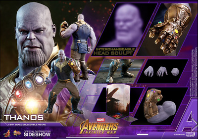 Hot Toys THANOS Avengers Infinity War 1/6 Scale 903429 MMS479 In Stock