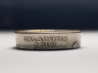 US State Quarter Ring |Coated| |Free Shipping| (Pick State at Checkout)