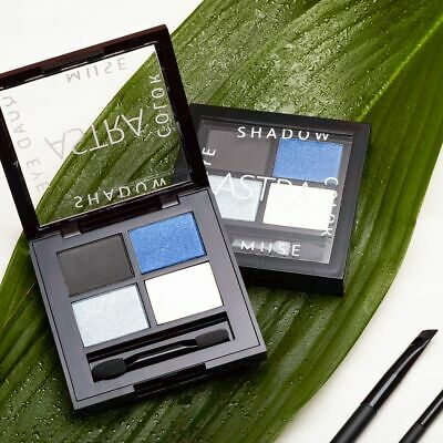 Astra Make-Up Italy Color Muse Quad Eye Shadow palette, 4 metal & mat nuances