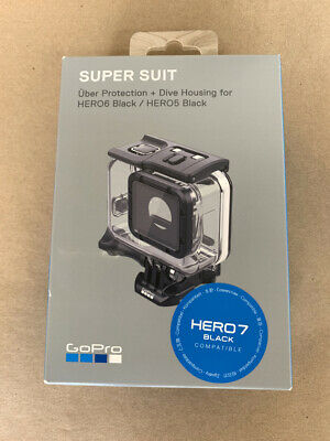 New Gopro Super Suit Uber Protection + Dive Housing Aadiv-001 Genuine Gopro Acc