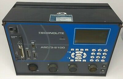 Econolite Signal Controller ASC/3-2100 with Telemetry Module Traffic