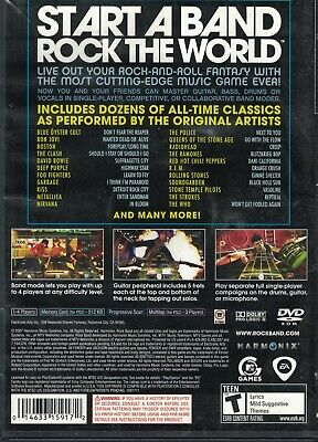 ROCK BAND 2 GAME (Sony Playstation 3) PS PS3 Free Shipping