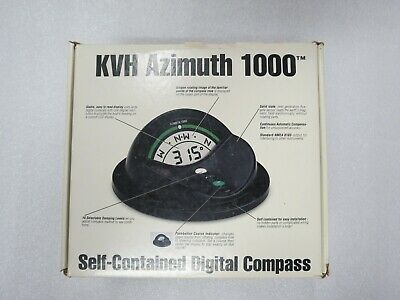 """Kvh Azimuth 1000 Self-Contained Digital Compass """"Black"""" #01-0148"""