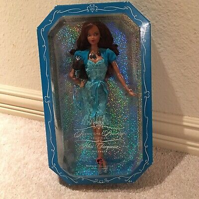 Barbie Birthstone Beauties Miss Turquoise December AA African American