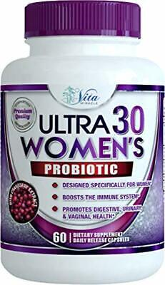 Dr Formulated Probiotics for Women - Once Daily Womens Probiotic Supplement for