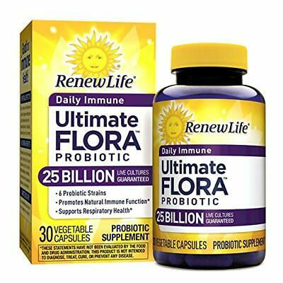 Renew Life Adult Probiotic - Ultimate Flora Daily Immune Shelf Stable Probiotic