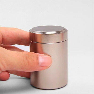 Airtight Smell Proof Container New Aluminum Herb Stash Jar Box