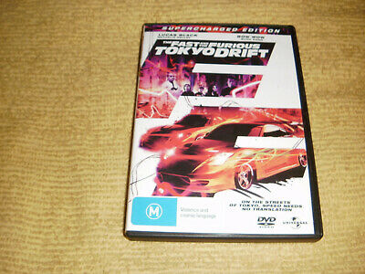 THE FAST AND THE FURIOUS TOKYO DRIFT action 2006 DVD Lucas Black 3 bow wow R4