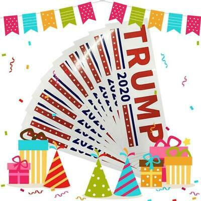 2020 general election President Donald Trump trump car stickers 10PCS B9S9