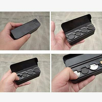 Black Car Coins Storage Box Piggy bank Organizer Change Holder Coin Container