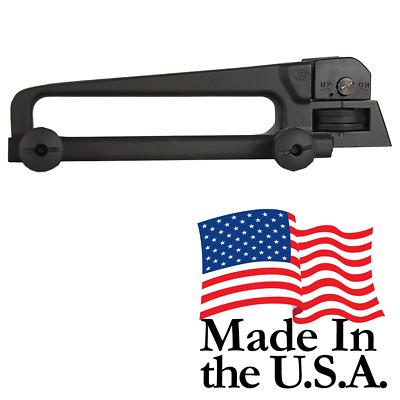 J&E PS-CH2 Made in the USA Aluminum Mil-spec Carry Handle Sight Matte Black