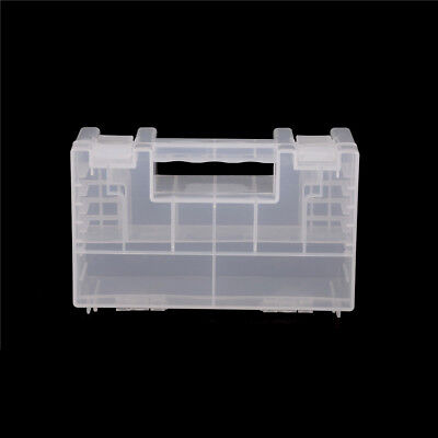 Large Portable Hard Plastic Battery Case Holder Storage Box for AA AAA Batter TU
