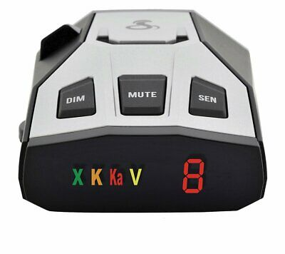 Best Radar Detector For Cop Cars Police Scanner Real Cobra Bel Kit Detector New