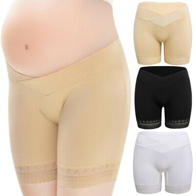 Women Maternity Lace Panties Underwear Support Belly Briefs Shorts Underpants