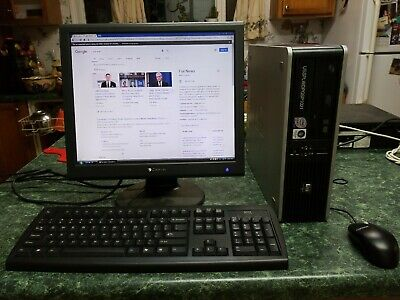 HP COMPAQ 8100 ELITE SFF CORE I5 3 2 GHz 4 GB RAM 160 GB HDD RADEON