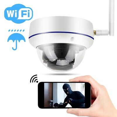 Telecamera Ip Camera 2 Mpx 1080P Hd Wifi Wireless Ir Onvif Esterno Ip66 Dome
